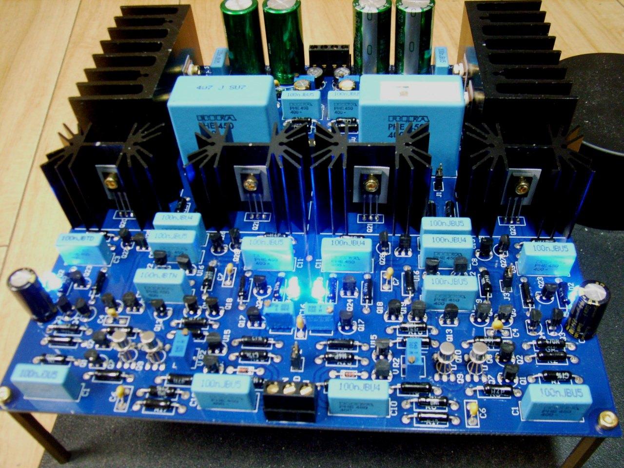 High Power Amp Modules